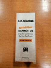 Groomarang Tooth & Gum Treatment Oil For Gum Disease, Bad Breath And Oral Pain