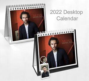 Aidan Turner 2022 Office Desktop Holiday Calendar + Key ring