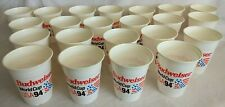 22 Vintage Beer Advertising Plastic Cups Budweiser Usa 94 Soccer World Cup 12oz