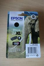 Genuine Epson 24XL Ink Cartridge - BLACK. Claria Photo HD Ink