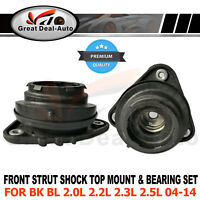 Strut Top Mount Bearing Set for Mazda 3 BK BL 2004-2014 Upper Left & Right  2PCS