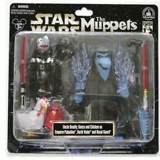 Disney Star Wars Weekends 2013 Muppets Darth Vader, Uncle Deadly, Gonzo Figure