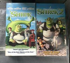 Shrek 2 Vhs Tapes For Sale Ebay