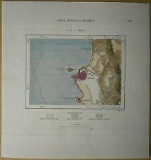 1893 Perron map IQUIQUE, CHILE (#145)
