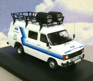 IXO 1/43 FORD TRANSIT MK2 TEAM FORD RALLY ASSISTANCE/SUPPORT VAN 1979 RAC328