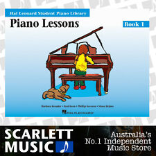 HLSPL Piano Lessons Book 1 ( One / First ) Hal Leonard Student Piano *BOOK ONLY*