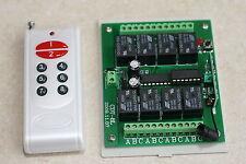 Interrupteur sans fil 8 canaux avec télécommande - DC