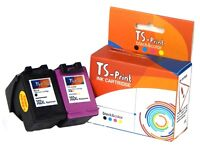 TS-Print Drucker Set Tinten-Patronen für HP 302-XL bk + c Officejet 5220 5230