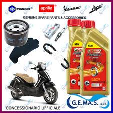Kit tagliando Piaggio Beverly 500 cinghia 832738 candela olio filtro olio aria