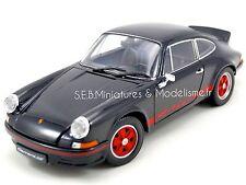 Porsche 911 CARRERA RS 2.7 1973 NOIR 1/18 WELLY FE17DC
