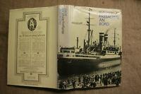 Buch Geschichte der Passagierschiffe, Auswandererschiffe, Kreuzfahrten, DDR 1988