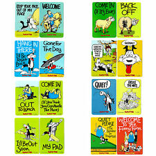 8 BOOKMARKS-COLLECTABLE-FUN-COMICAL-PAGE MARKERS
