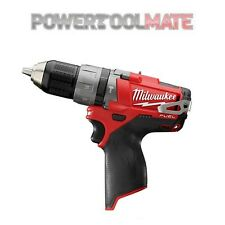 Milwaukee M12CPD-0 12v Fuel Li-ion 2-Speed Percussion Drill Bare Unit