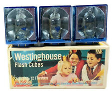 Box of 3 Vintage Westinghouse Flash Cubes for Camera