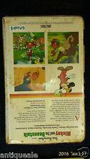 Mickey video cassette [ENT10108] Walt Disney, used, original!