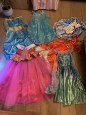 Huge Bundle Girls Dressing Up 5-6 7/8 Years Disney ALICE Jasmine Elsa Beautiful