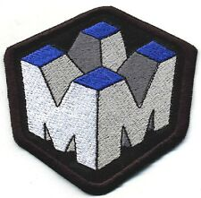 """Fringe [TV] MASSIVE DYNAMICS 3.25"""" Embroidered Iron-On Patch"""