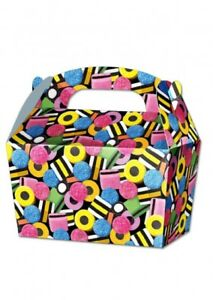 10 x Candy Treat Boxes Cupcake Gift Party Loot Bag Children Birthday SB126
