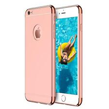 Apple iPhone 5 5S SE Hybrid Cover Hülle Hardcase Handyhülle Tasche Gold Case