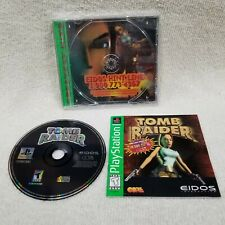 Tomb Raider 1 Lara Croft Gh Sony PlayStation 1 Ps1 Complete Cleaned Tested Works