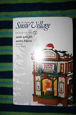"Department 56 Original Snow Village ""Santa Suits for Santa's Helper"""