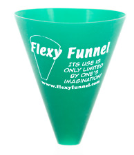 Flexy Funnel, Exercise, Outdoors, Compactable,Squishable, Silicone, Kitchen