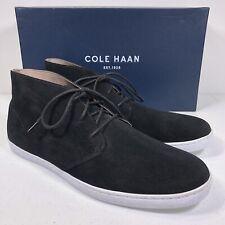 Cole Haan Men's Pinch Weekender Chukka Suede Sneaker BLACK