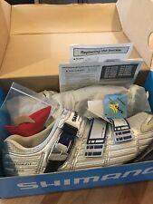 NEW! Shimano SH-R300 SPD SL Racing Shoes Silver. Size: EU 44, US 9.7, cm 27.8