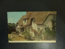 Postcard 1971. Cottage in the New Forest