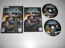 STAR WARS - REPUBLIC COMMANDO Pc Cd Rom Original Release - FAST POST