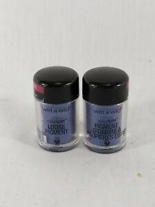 To-Knight's Loose Pigment Blue Wet N Wild Limited Edition Coloricon Set of 2 J5