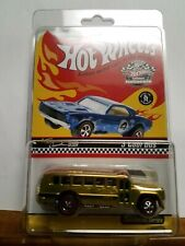 Hot Wheels Chicago Collector's Nationals S'Cool Bus Gold 2004 Convention Series