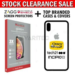 Zagg Otterbox Apple Tech21 Case Cover for iPhone 6 6S 7 8 Plus XR XS Max 11 Pro