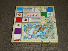 REGENCY : MEDIEVAL STRATEGY BOARD GAME - CIRCA 1992 IN VGC (FREE UK P&P)