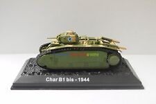 New 1/72 Diecast Tank France Char B1 Bis 1944 WWII Military Model Toy Soldiers