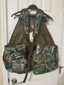 OL'TOM EASY RIDER TURKEY VEST - BRAND NEW WITH TAGS. REALTREE CAMOUFLAGE.
