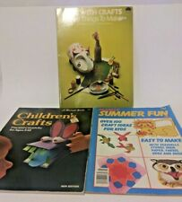 Vintage Arts and Craft Kids Books