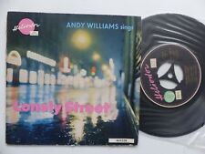 ANDY WILLIAMS sings Lonely street HELIODOR ( imprim 11 59 )  463 028 FRANCE  RRR