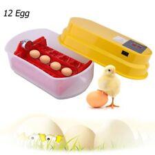 Digital 12 Eggs Incubator Hatcher Temperature Control Automatic Turning Chicken