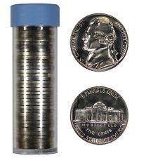 1967 SMS JEFFERSON NICKEL 5C GEM BU BRILLIANT UNCIRC FULL ROLL 40 COINS