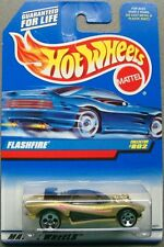 Hot Wheels 1997 Diecast Coll. #802 FLASHFIRE Gold & Black with Black Interior