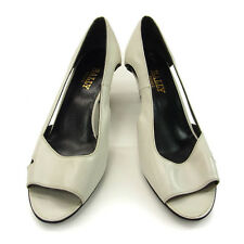 Bally Mules White Woman Authentic Used B435