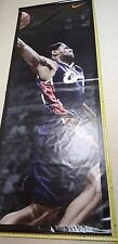 LeBRON JAMES Slam Dunk NIKE 10ft. Vinyl Rafter Banner - Cleveland Cavaliers NBA