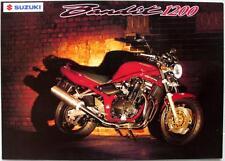 SUZUKI BANDIT 1200 - Motorcycle Sales Brochure - June 2000 -#MBO1GSF1200-BROCH