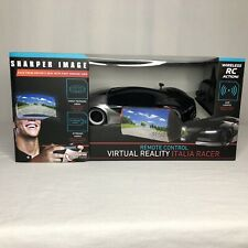 Sharper Image Italia Racer Remote Control Virtual Reality Wireless Led Light FPV