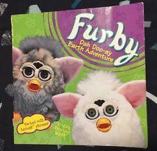 Rare Vintage Furby Picture Book, Dah Doo-ay Earth Adventure
