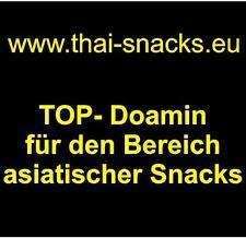www.thai-snacks.eu Domainname Webadresse für Asia Lebensmittel & Snacks Domain