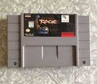 SNES Primal Rage Super Nintendo Authentic Cartridge Cleaned & TESTED Fast Ship!