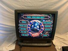 "Panasonic PV-DM2791 27"" CRT TV Retro Gaming w/ DVD VHS Combo Television Vintage"