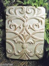 Tuscan decor mold plaster concrete casting resuable